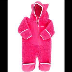 Baby Girl Columbia Coverall